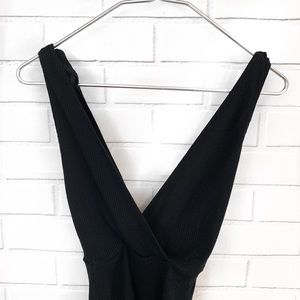 Reformation Pants - Reformation • Macey Wrap Style Bodysuit